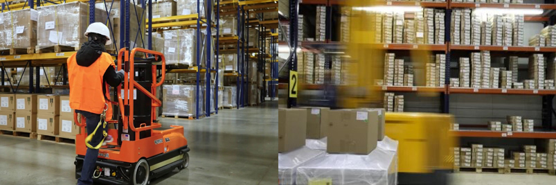 Фото работы в Польше сборщик заказов на складе (picker)