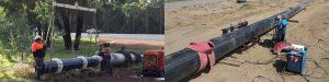 Фото: Разнорабочий (прокладка водопровода на железнодорожных путях)