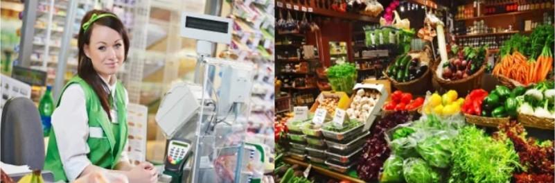 Фото работы в Польше в магазине Бедронка