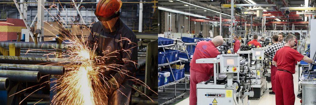 Фото работы в Польше: Работники на производство и строительство