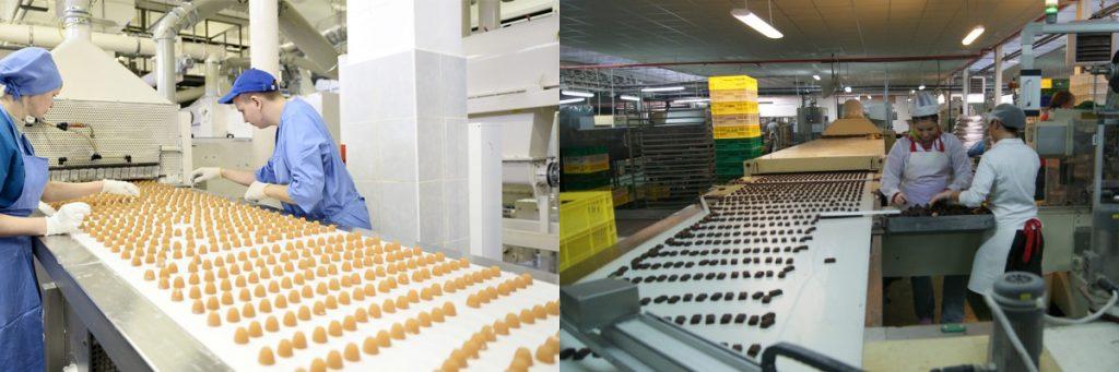 Упаковщик кондитерской фабрики в Польше фото