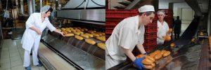 Работа в Польше. Работник хлебозавода фотографии