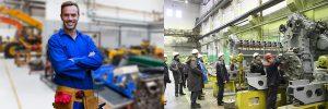 Работа в Польше фотографии. Производство защитных элементов дорожного покрытия