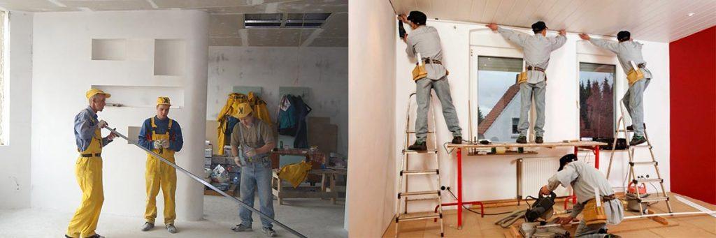 Работа в Чехии. Отделка помещений фото. от € 950-1300