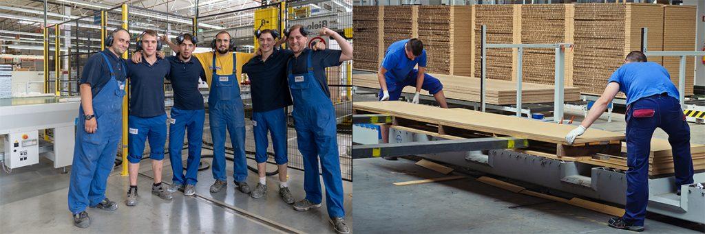 Работа в Польше. Рабочий на мебельной фабрике фото