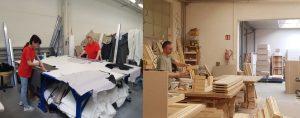 Работа на мебельной фабрике для женщин, мужчин и семейных пар в Польше
