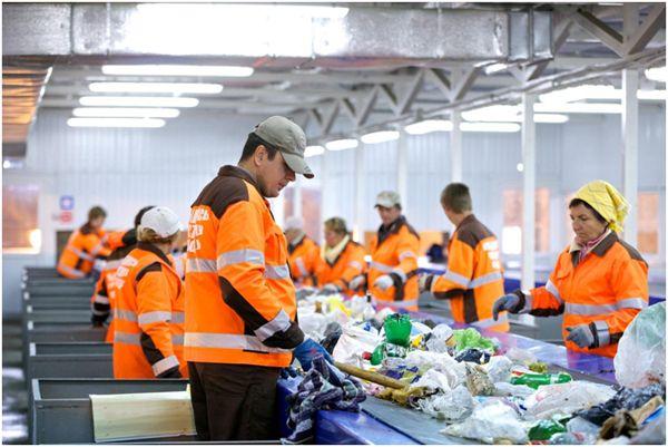 Сортировщик стеклянной и пластмассовой тары в Германии